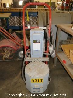 Portable I-T-E Transformer with Breaker Box