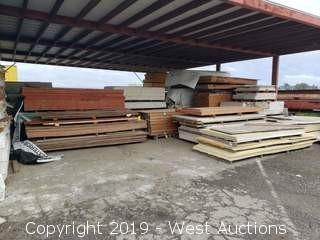 Bulk Lot: Pressure Treated 2x6, Expanded Steel, Drywall, Plywood