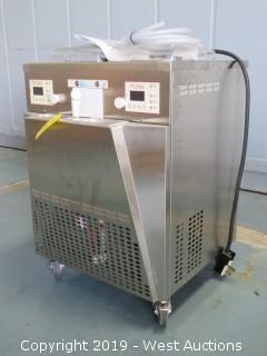 BG Italy INST21-UL Dual Pot Churning Freezer