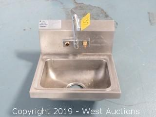Advance Tabco Handwash Sink
