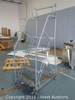 4' Cotterman Warehouse Ladder