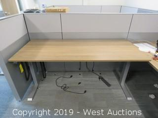 Actiforce Migration Variable Height Desk