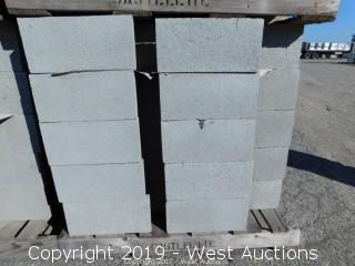 (1) Pallet of 12x8x16 DOEBB - Precision Grey Lightweight