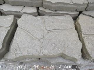 (1) Pallet of Alameda Patio Stone - Tan/Brown