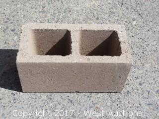 (1) Pallet of 8x8x16 STD - Precision Tan