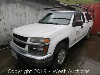 2004 Chevrolet Colorado LS Access Cab Pickup Truck