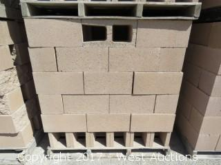 (1) Pallet of 8x8x16 OE STD - Precision Tan