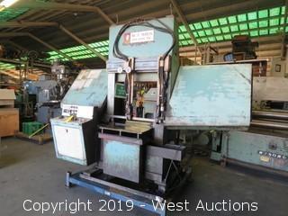 """W.F. Wells QJ-24 24"""" Automatic Bandsaw"""