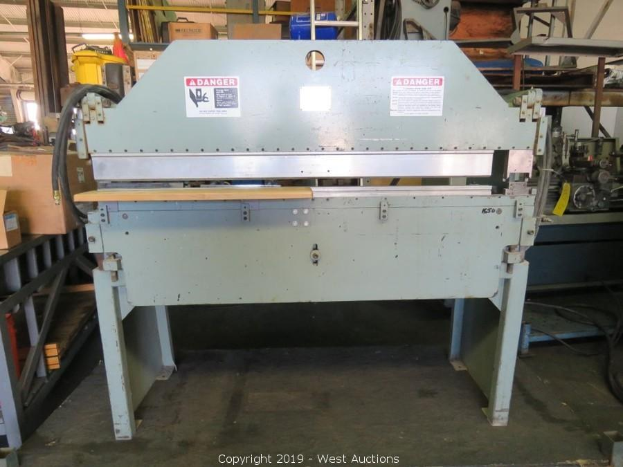 West Auctions - Auction: Online Auction of Metal Fabrication