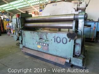 """Wysong D-60 60"""" Plate Roller"""