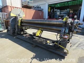 Hendley & Whittmore 8' 3/8 Capacity Plate Roller/Angle Roller