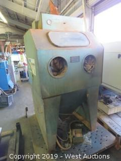 P&G E-36 Sand Blast Cabinet