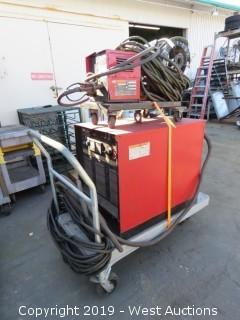 Lincoln Electric CV-400 Welder Witn LN-7 Wire Feeder