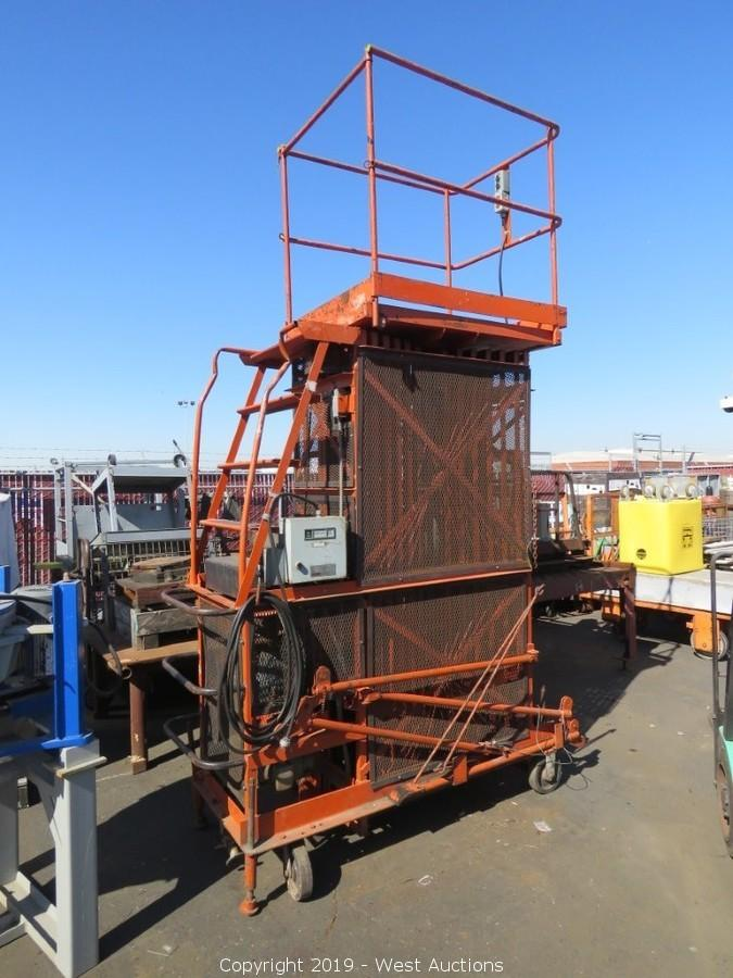 Online Auction of Metal Fabrication Equipment for Sale in San Francisco, California