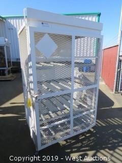 Forklift Propane Lockable Cage