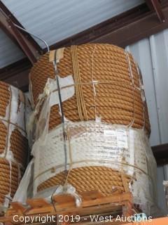 (2) 1200' Bundles Of Manila Rope