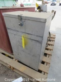"""15""""x9""""x24"""" Storage Box"""