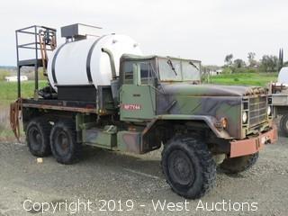 AM General M923 5 Ton 6x6 1,500 Gallon Hydroseeder (Overhauled In 1998)