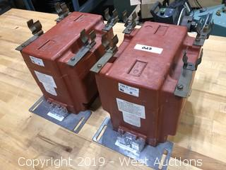 High Voltage Potential Transformers Qty. 2