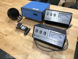 Laser Power Meters Qty.3, Sensing Heads Qty. 3