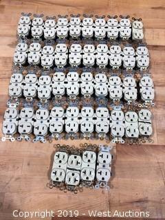 110V 20A Outlets Qty. 44