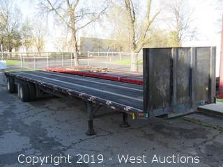 1990 Great Dane 45' Flatbed Trailer