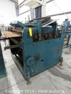 Rowe C40 Sheet Metal Roller Machine