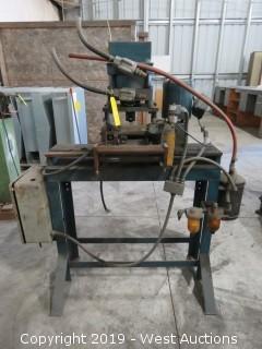 """Artos Engineering  37678 5"""" Sheetmetal Processing Machine"""