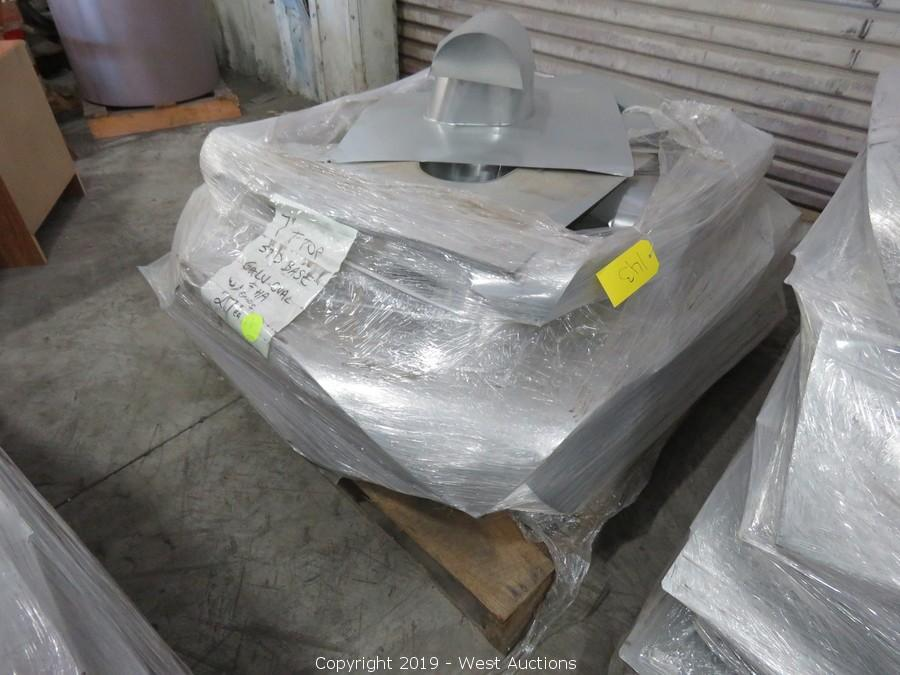 Trailers, Sheet Metal Machinery, and Building Products Online Auction in Manteca, CA