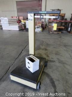 Toledo Portable 1000 Lbs Beam Scale