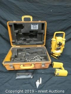 Topcon GTS-2 Surveying Total Station With Accessories And Case
