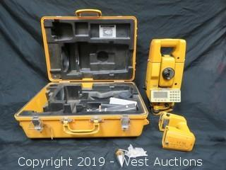 Topcon ITS-1B Surveying Total Station With Accessories And Case