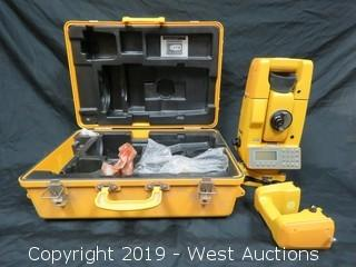 Topcon GTS-4 Surveying Total Kit With Accessories And Case