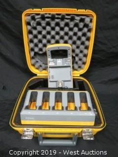 (2) Trimble Charging Stations With Case