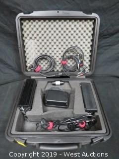 Trimble Power Supply Kit with (3) Charging/Power Units and Case