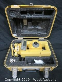 Topcon GTS-313 Surveying Total Station With Case