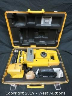 Topcon GTS-4 Surveying Total Station With Case And Accessories