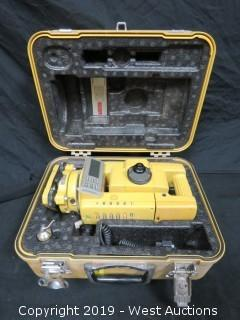 Topcon GTS-303D Electronic Distance Meter With Case