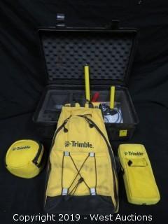 Trimble DGPS Gps Receiver Kit And Carrying Case
