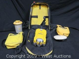 Trimble 5700 With Zephyr Antenna, Backpack, And Accessories