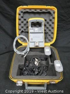 Trimble Multi-Battery Adapter With Accessories And Case