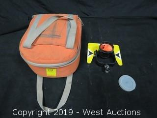 Prism Surveying Reflector With Case