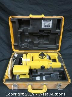 Topcon GTS-2 Surveying Total Station With Case And Accessories