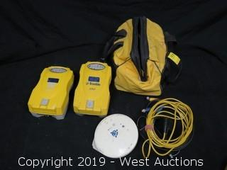 (2) Trimble 5700 Units With Zephyr Antenna, Carrying Case, And Accessories