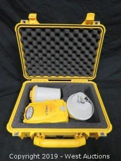 Trimble 5700 With Zephyr Antenna, Case, And Accessories