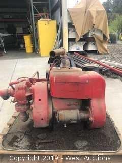 Davis Co. Gas Pump