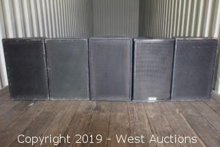 Lot EAW Array Speakers