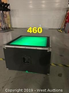 Black Dance Box with Plexiglass