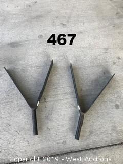 (2) Triangle Truss Adapters
