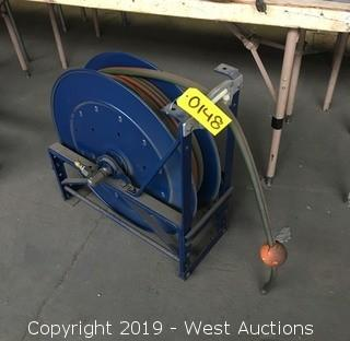 Welding Hose Reel with Hose